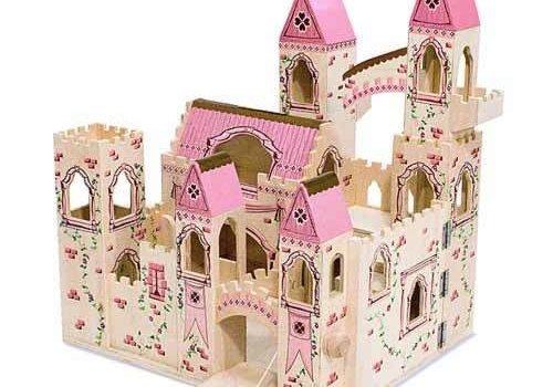 Melissa And Doug Melissa And Doug Folding Princess Castle