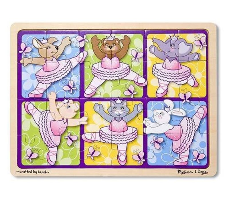 Melissa And Doug Ballerinas and Butterflies Jigsaw Puzzle 24pc