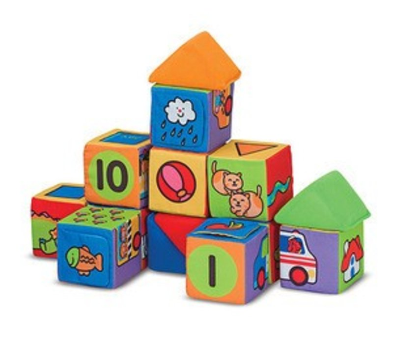 Melissa And Doug Match And Build Blocks
