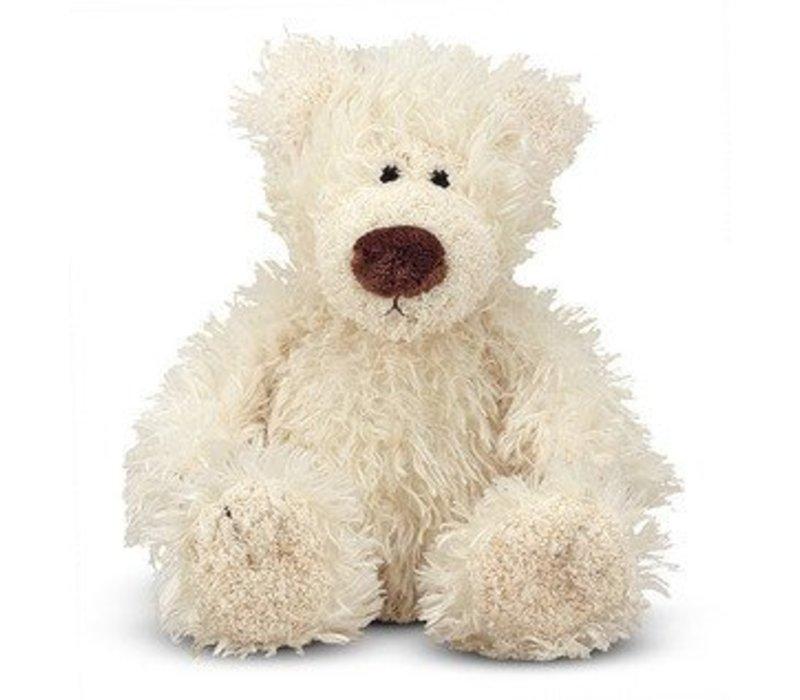 Melissa And Doug Baby Roscoe Bear - Vanilla