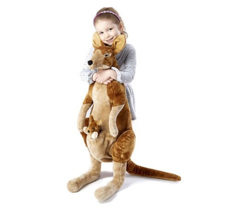 Melissa And Doug Kangaroo and Joey - Plush