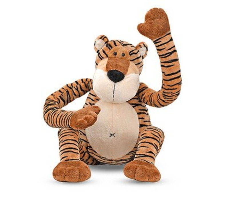 Melissa And Doug Swagger Tiger Stuffed Animal