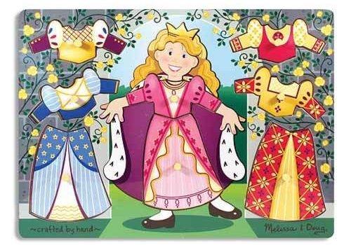 Melissa And Doug Melissa And Doug Princess Dress Up Mix and Match Peg