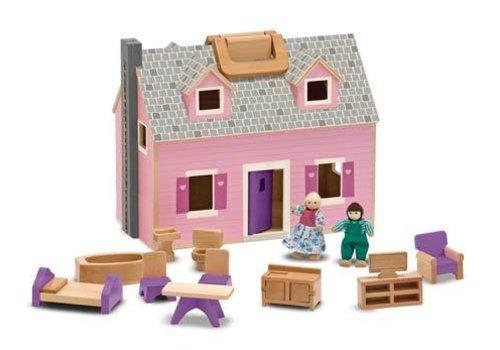 Melissa And Doug Melissa And Doug Fold And Go Mini Dollhouse