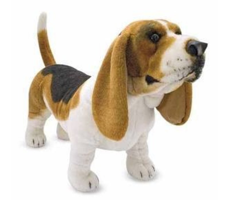Melissa And Doug Basset Hound - Plush