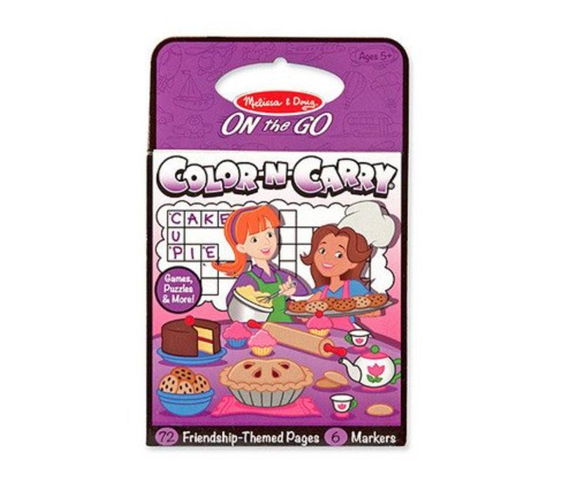 Melissa And Doug Color N Carry - Friendship
