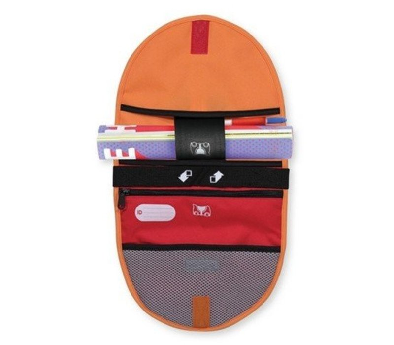 Melissa And Doug Trunki  Saddlebag In Orange/Red