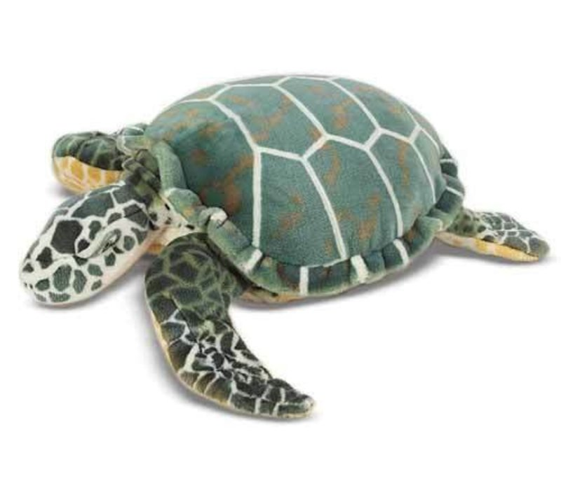 Melissa And Doug Plush Sea Turtle