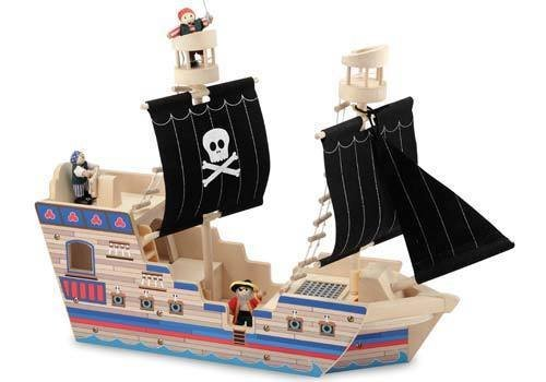 Melissa And Doug Melissa And Doug Deluxe Pirate Ship Play Set