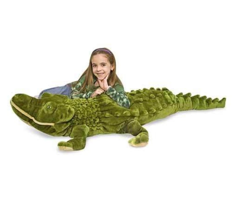 Melissa And Doug Plush Alligator