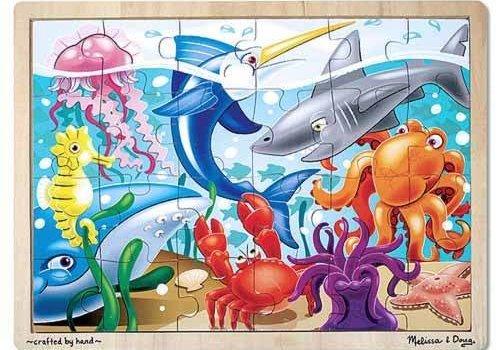 Melissa And Doug Melissa And Doug Under The Sea Jigsaw Puzzle 24pc