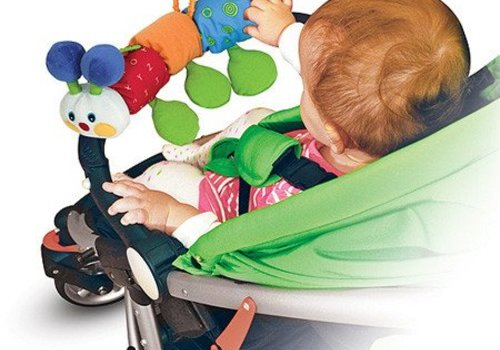 Melissa And Doug Melissa And Doug Traveling Inchworm Stroller Toy