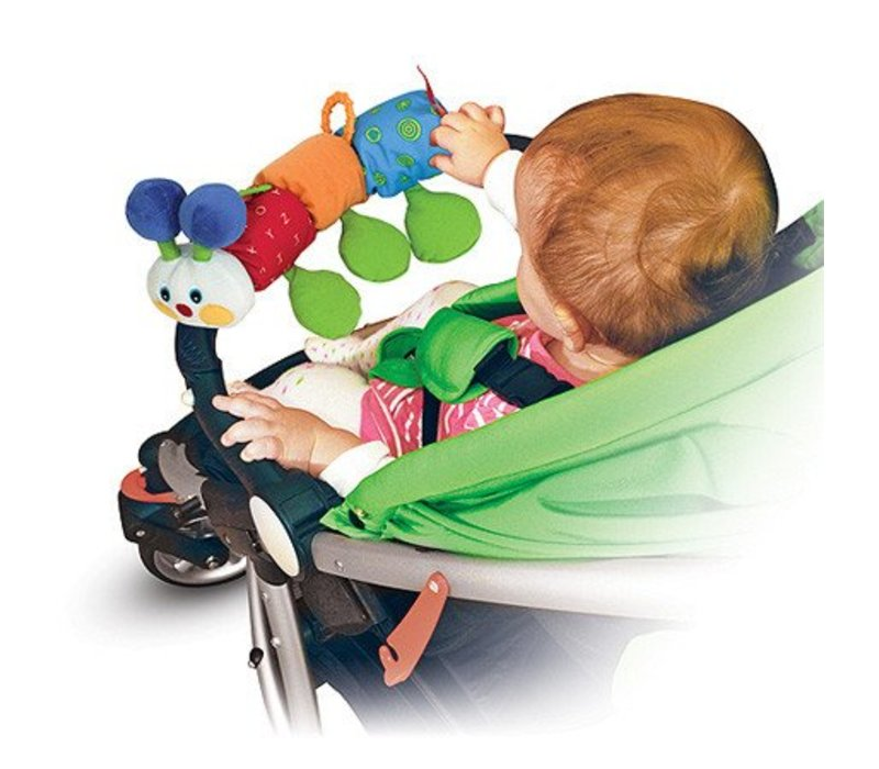Melissa And Doug Traveling Inchworm Stroller Toy