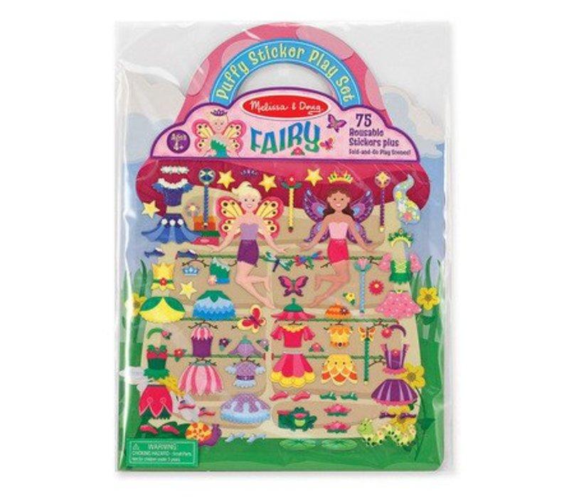 Melissa And Doug Puffy Sticker Play Set - Fairy