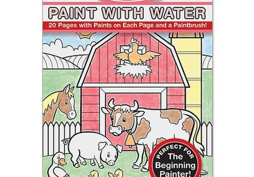 Melissa And Doug Melissa And Doug Paint With Water - Farm Animals