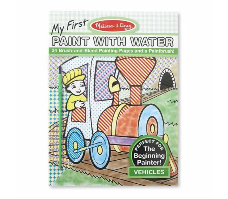 Melissa And Doug Paint With Water - Vehicles