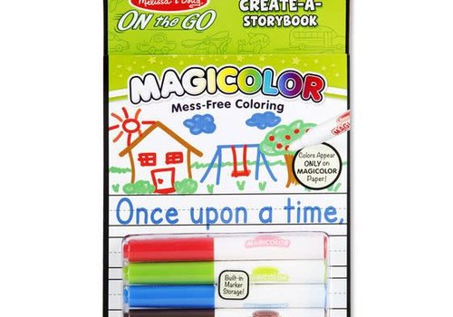 Melissa And Doug Melissa And Doug Magicolor Color Your Own Sticker Book Storybook