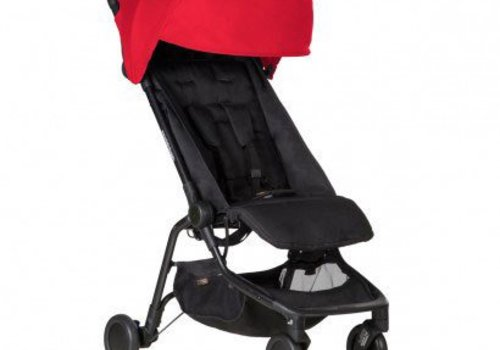 Mountain Buggy 2017 Mountain Buggy Nano Travel Single In Ruby