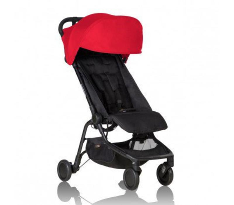 2017 Mountain Buggy Nano Travel Single In Ruby