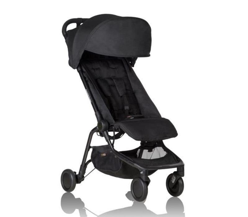 2017 Mountain Buggy Nano Travel Single In Black