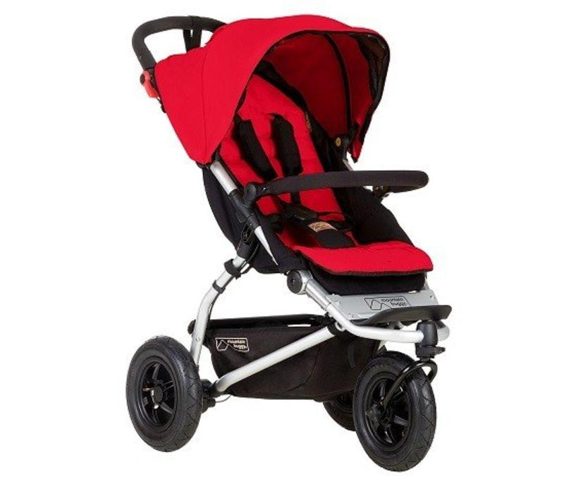 2017 Mountain Buggy Swift Stroller In Berry