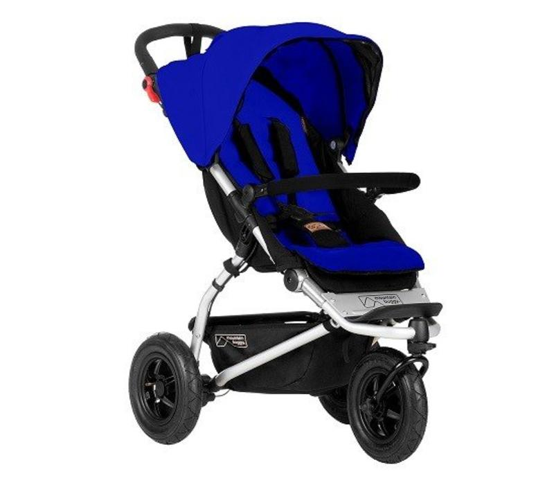 2017 Mountain Buggy Swift Stroller In Marine