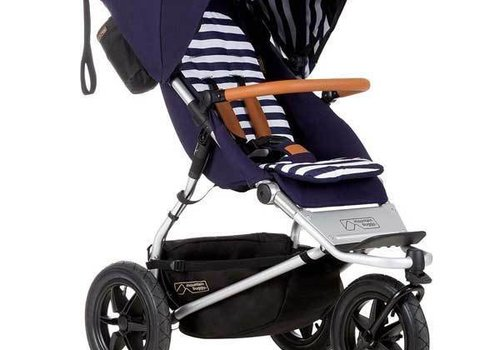 Mountain Buggy Mountain Buggy Urban Jungle Luxury Collections Single In Nautical