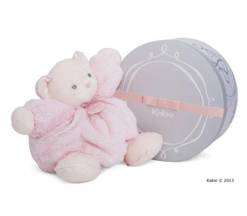 Kaloo Perle Large Chubby Bear Pink