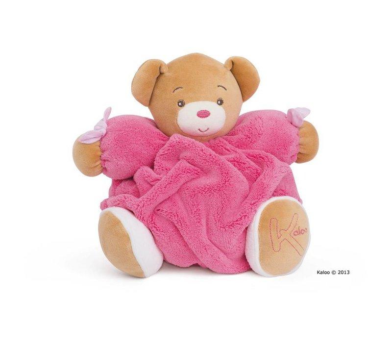 Kaloo Plume Medium Raspberry Bear