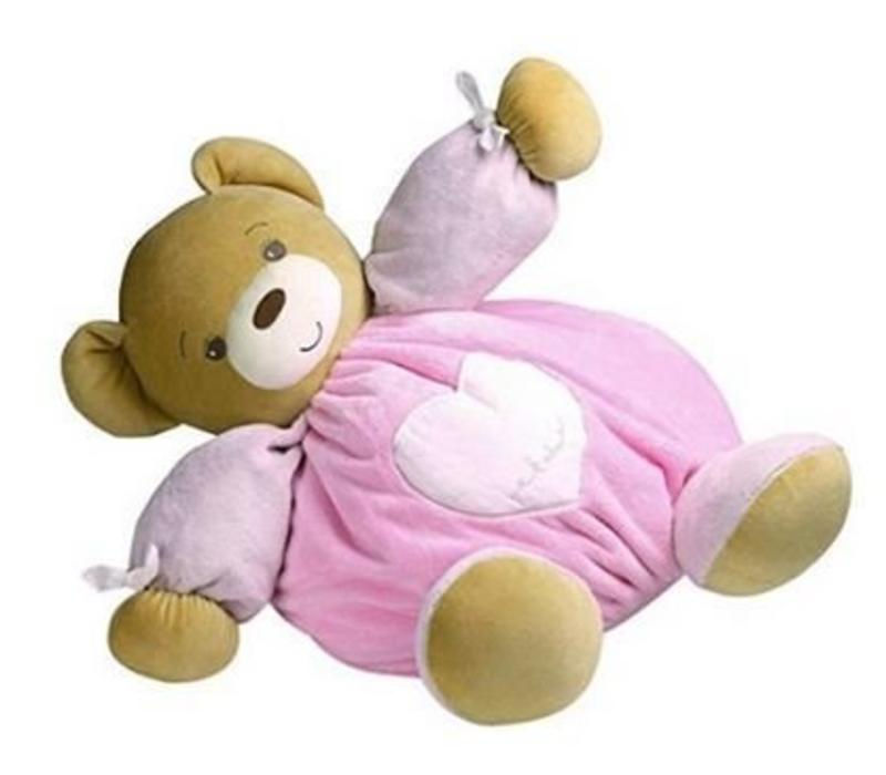 Kaloo Plume Maxi Bear In Pink