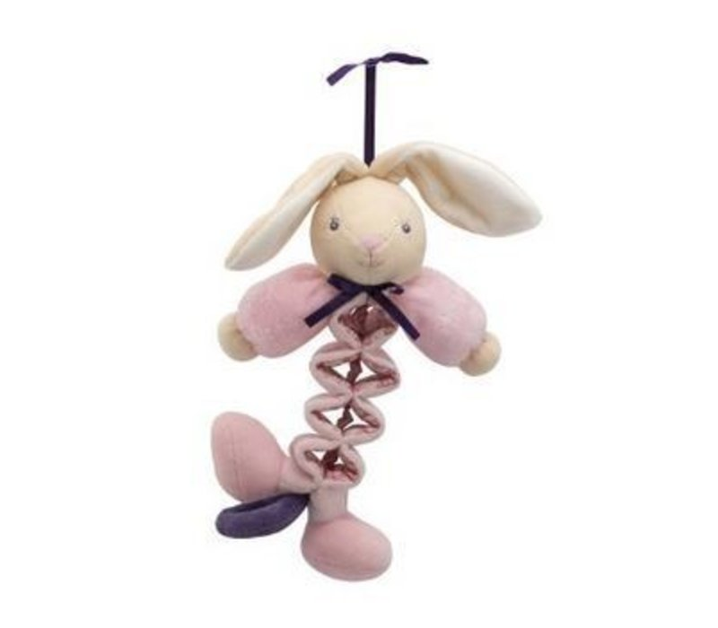 Kaloo Petite Rose Mini Zig Musical Rabbit
