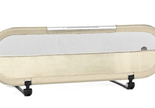 Baby Home BabyHome Side Bed Rail With LED Light In Sand