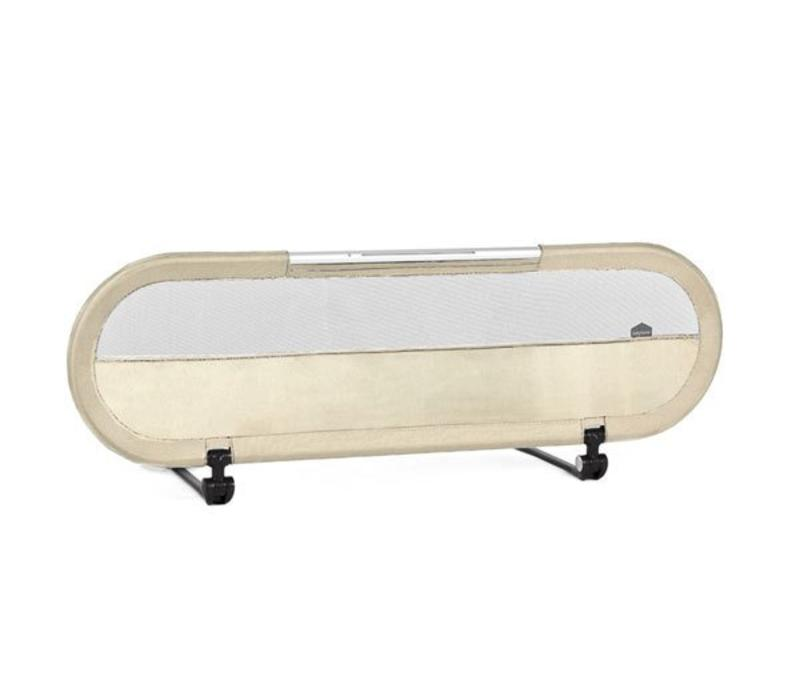 BabyHome Side Bed Rail With LED Light In Sand