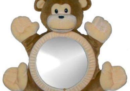 See Me Smile See Me Smile BearView Infant Mirror In Monkey