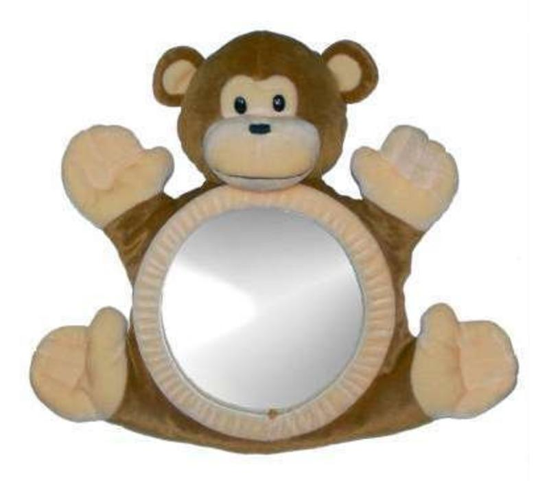 See Me Smile BearView Infant Mirror In Monkey