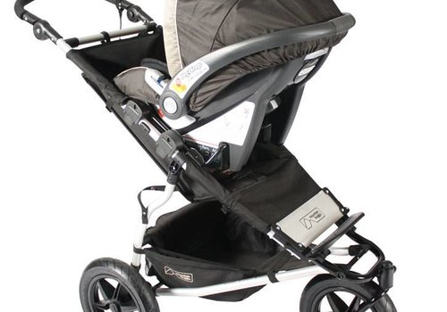 Mountain Buggy Mountain Buggy Urban Jungle, Terrain, +one Car Seat Adaptor For Peg Perego
