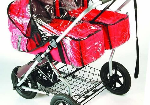 Mountain Buggy CLOSEOUT!! Mountain Buggy Urban Jungle Single/ Duo Carry Cot Rain Cover