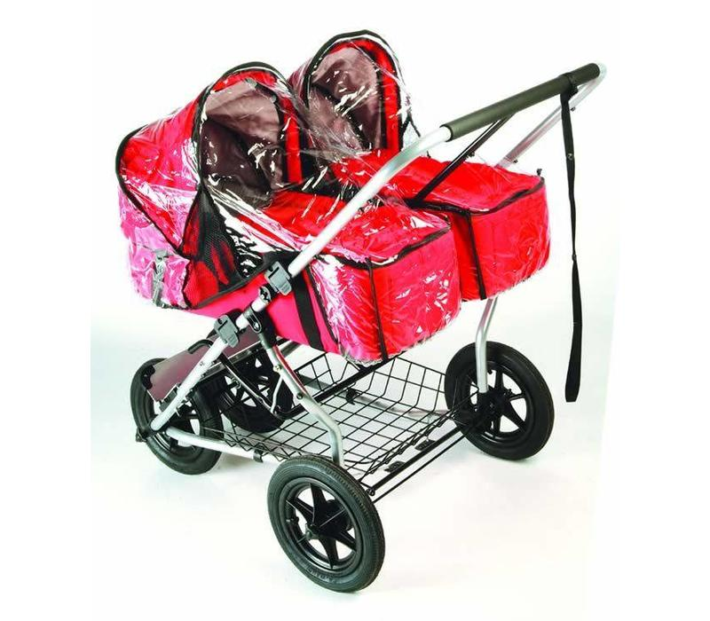 CLOSEOUT!! Mountain Buggy Urban Jungle Single/ Duo Carry Cot Rain Cover