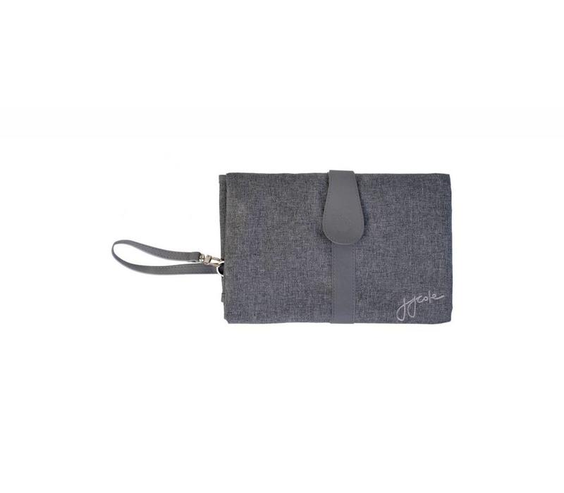 JJ Cole Changing Clutch In Gray Heather