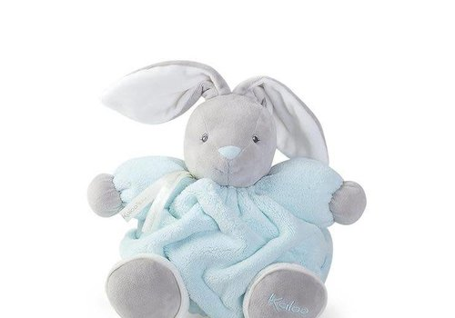 Kaloo Kaloo Plume Aqua Chubby Rabbit Toy (Medium)