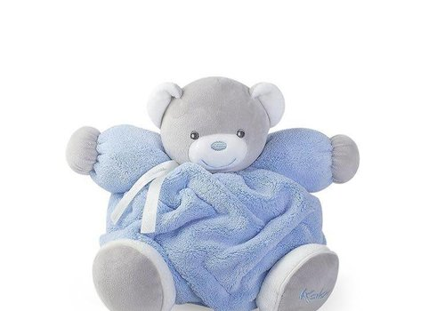 Kaloo Kaloo Plume Blue Chubby Bear Toy (Medium)