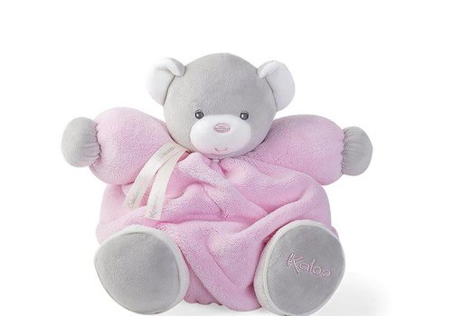 Kaloo Kaloo Plume Pink Chubby Bear Toy (Medium)
