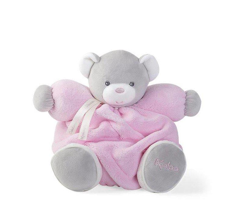 Kaloo Plume Pink Chubby Bear Toy (Medium)