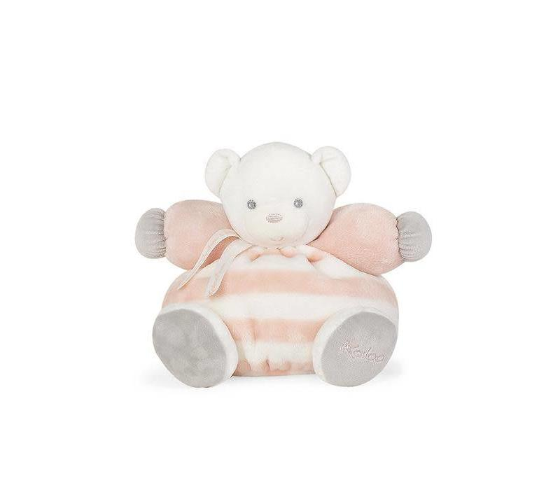 "Kaloo Bebe Pastel Chubby Bear Peach and Cream"" Toy (Medium)"