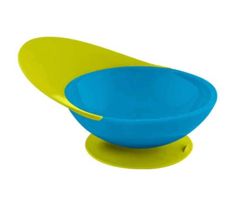 Boon Catch Bowl With Spill Catcher In Blue