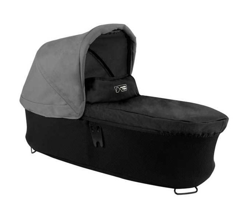 Mountain Buggy Duet Plus Carrycot In Flint