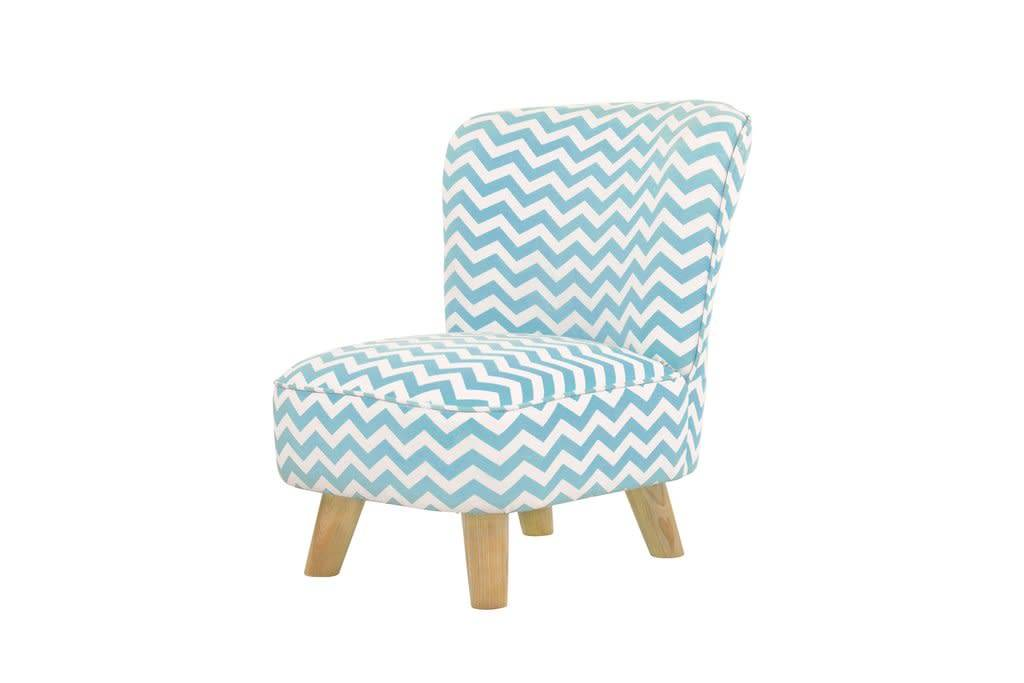 Baby letto baby letto pop mini chair in chevron blue for for Toddler mini chair