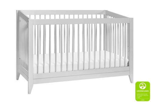 Baby Letto Baby Letto Sprout 4 In 1 Convertible Crib With Toddler Rail -Light Grey