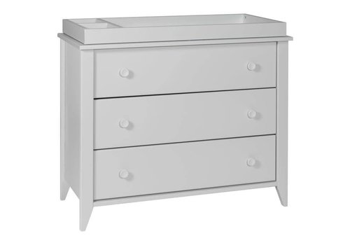 Baby Letto Baby Letto Sprout 3 Drawer Changer In Light Grey (No Pad Included)