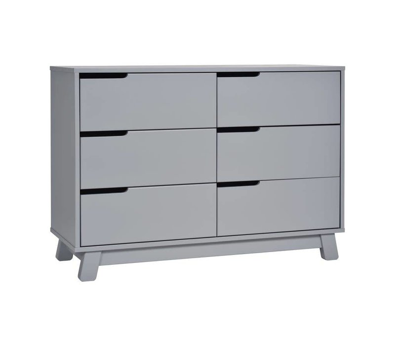 Baby Letto Hudson Double Dresser In Grey